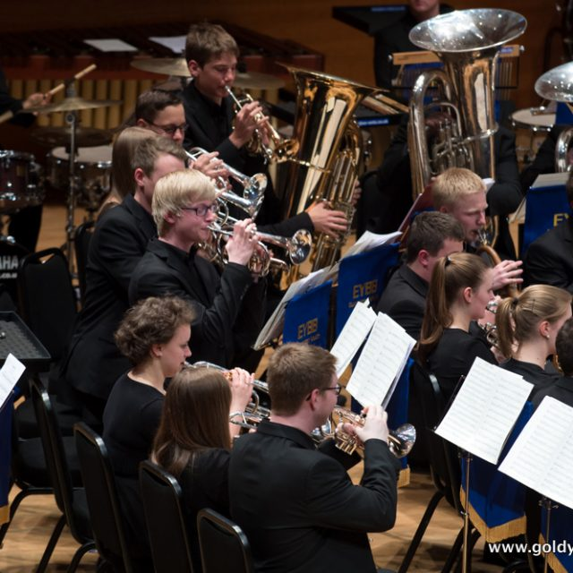 European Youth Brass Band, Perth (UK) 2014